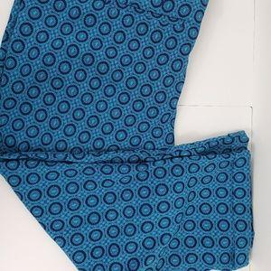 Lane Bryant Printed Capri Pants